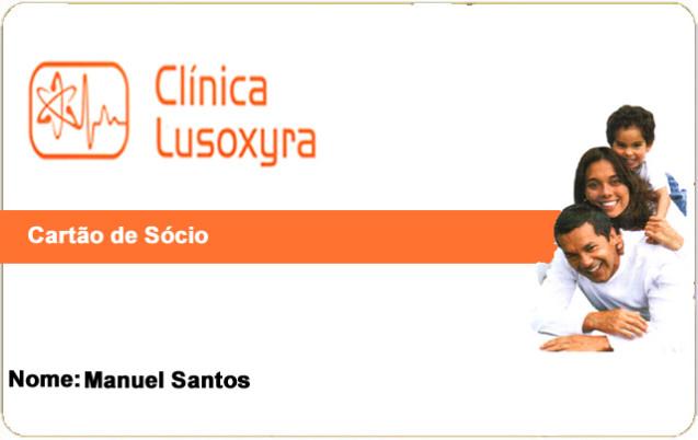 Cartão Associado Lusoxyra